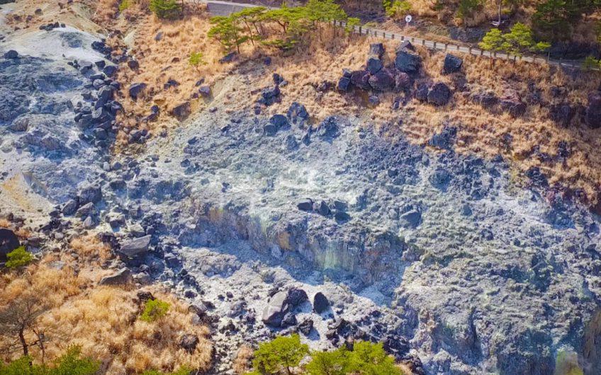 硫黄谷噴気地帯