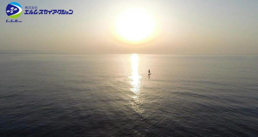大分県豊後高田市、「真玉海岸」を空撮しました。