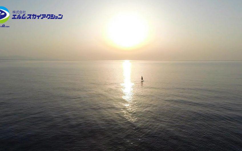 豊後高田市 日本の夕陽百選「 真玉海岸」