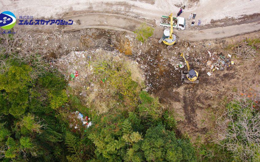 鹿児島県垂水市  不法投棄現場撮影
