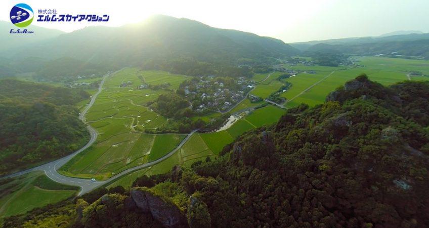大分県豊後高田市「田染荘 小崎」を空撮しました。